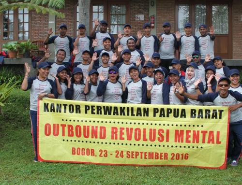 Kegiatan Outbound Revolusi Mental