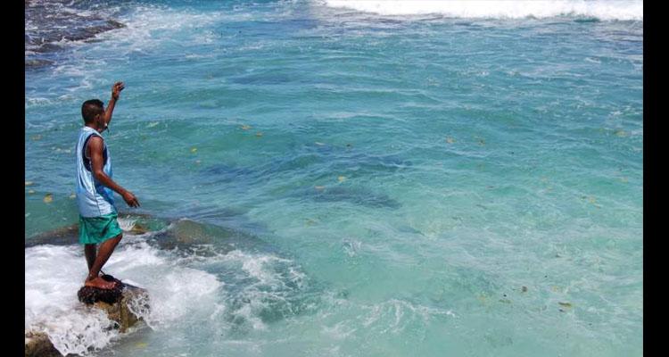 Pemanggilan Ikan Bakaro Beach