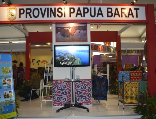 Genjot PAD Hingga 50 Persen Papua Barat Aktif di Pameran Skala Nasional Hingga Internasional