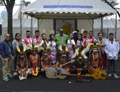 Pementasan Budaya Papua Barat  Event Japan-Indonesia Friendship Festival 2016 di Jepang